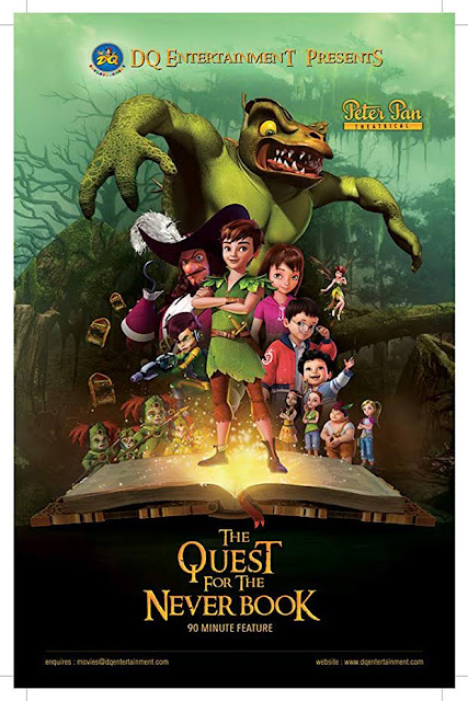 Peter Pan: The Quest for the Never Book [2018] [BBRip 1080p]