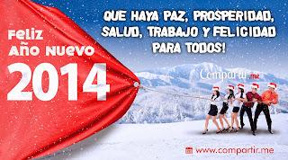 Frases De Año Nuevo: Feliz Año Nuevo 2014 Que Haya Paz Prosperidad Salud Trabajo Y Felicidad Para Todos