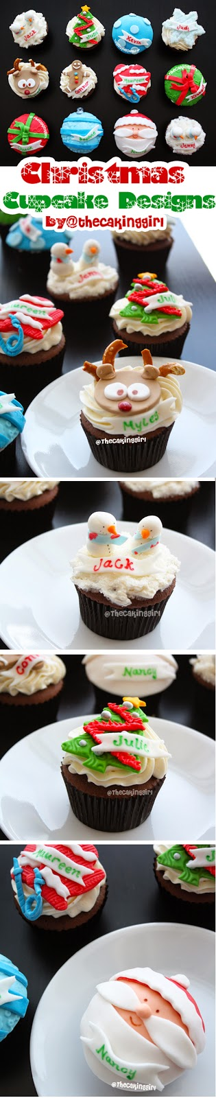 pinterest cutest christmas cupcake designs
