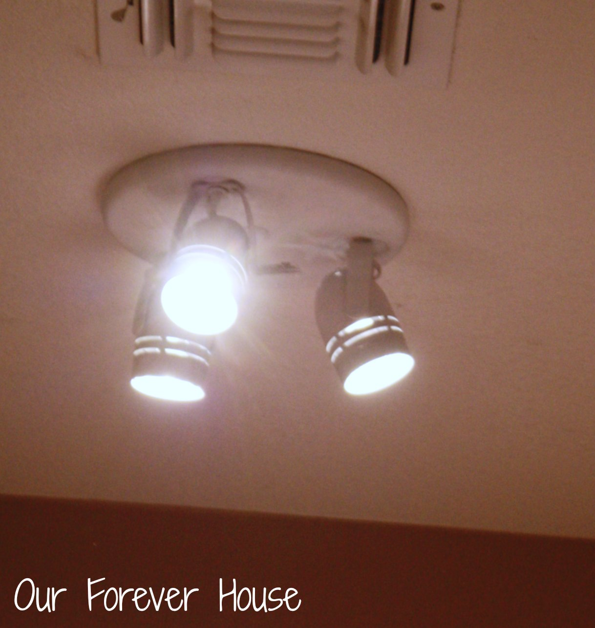 Excellent Our Forever House Master Closet Makeover With Closet Light  Fixtures.
