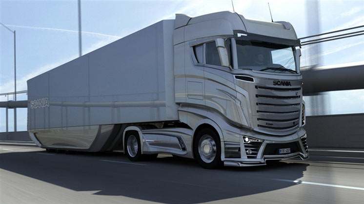 What Could Be The Scania Trucks Of Near Future Future