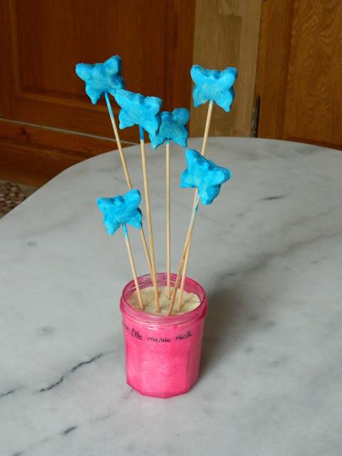 Le blog de lorraine bouquet de papillons pour la f te des for Cadeau pour la maison