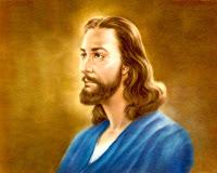 Foto de Jesus um homem serio
