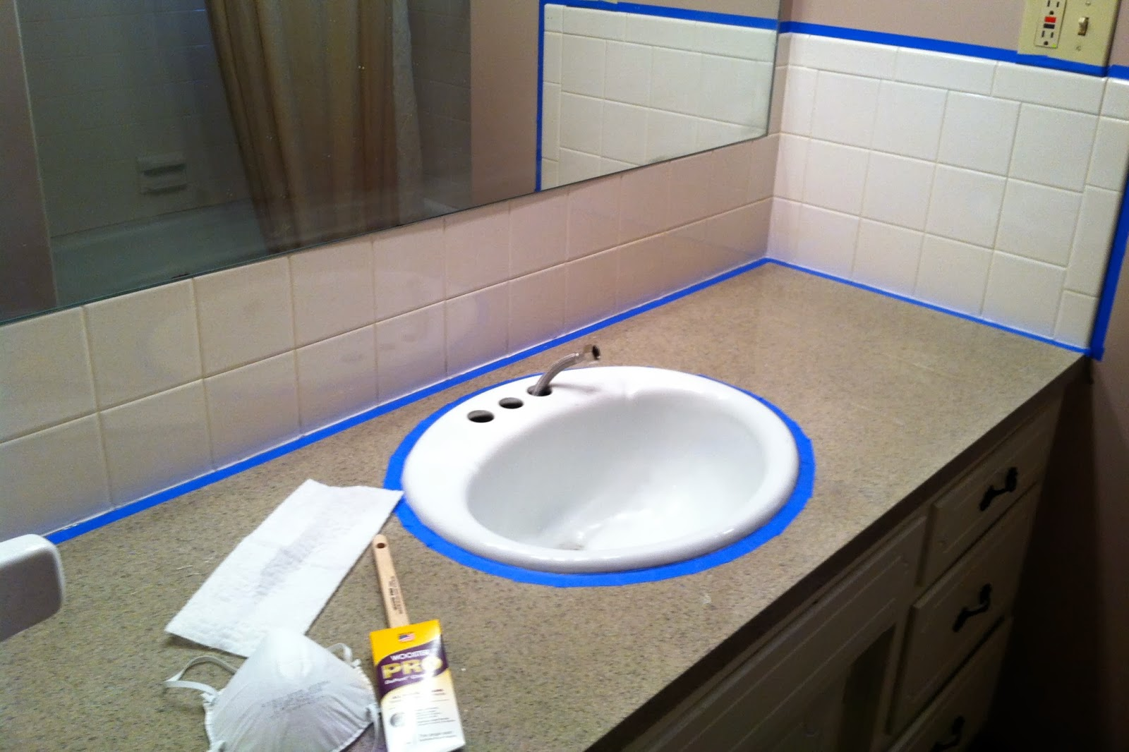 DIY Why Spend More: Rust-Oleum Tub & Tile = the worst!