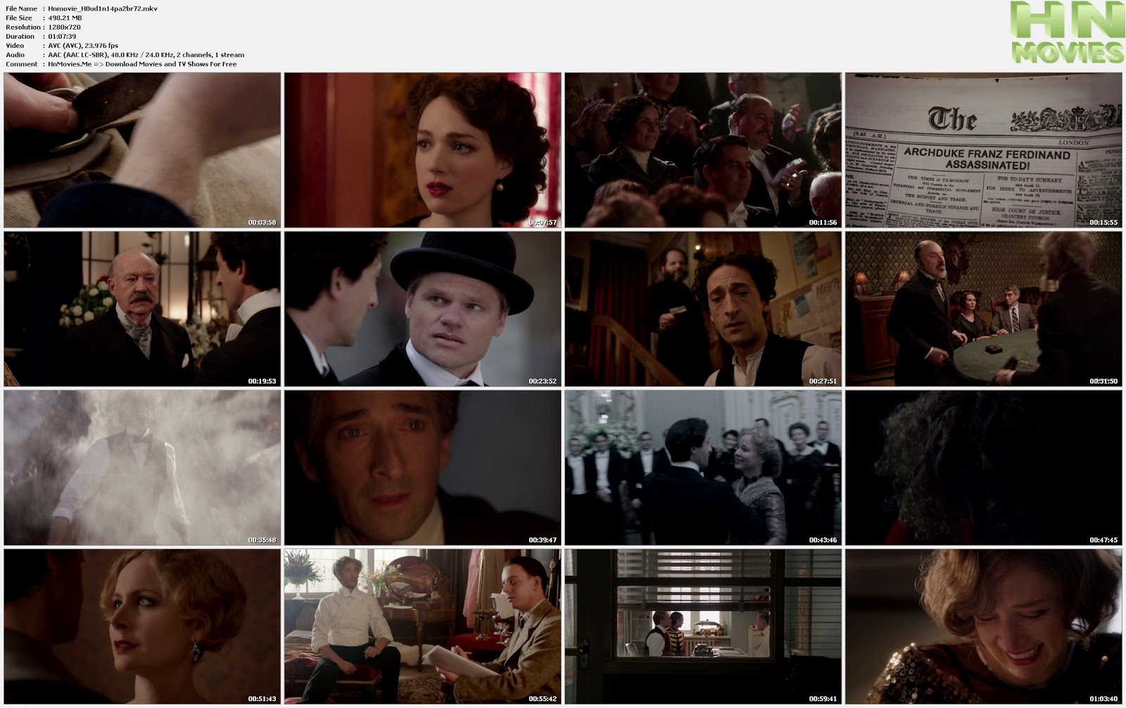 Houdini (2014) PART 2 BluRay 720p BRRip 500MB