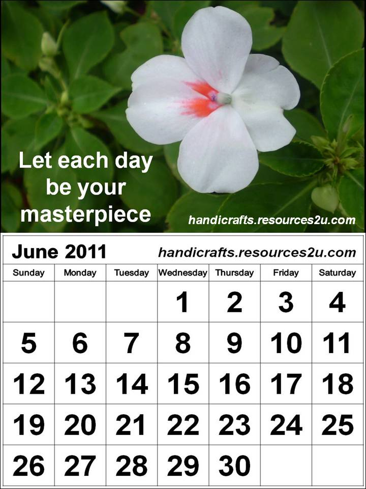 june 2011 calendar. june 2011 calendar.