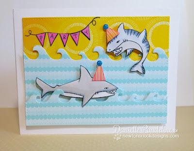 Shark Bites | Newton's Nook Designs | Created by Danielle Pandeline