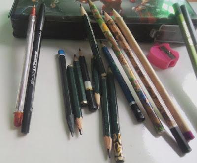 Alat tulis; Tempat pensil; ririekhayan.com