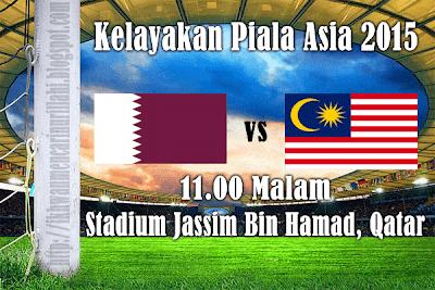 live streaming, malaysia vs qatar
