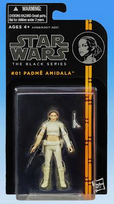 """Hasbro Star Wars The Black Series Padme' Amidala 3.75"""" Figure"""