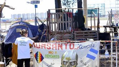 Batalla campal entre una patota de la Uocra y ambientalistas en Córdoba