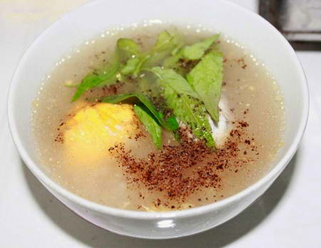 Balut Porridge (Chao Hot Vit Lon)