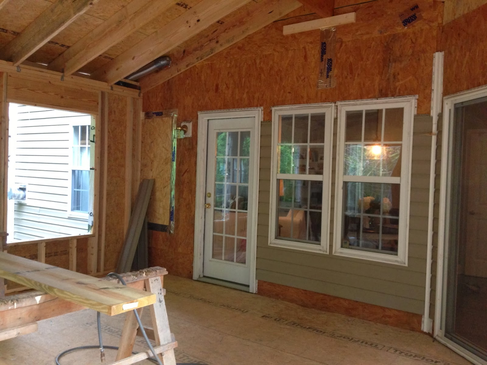 Simplicity our rustic casual sunroom addition for Rustic sunrooms