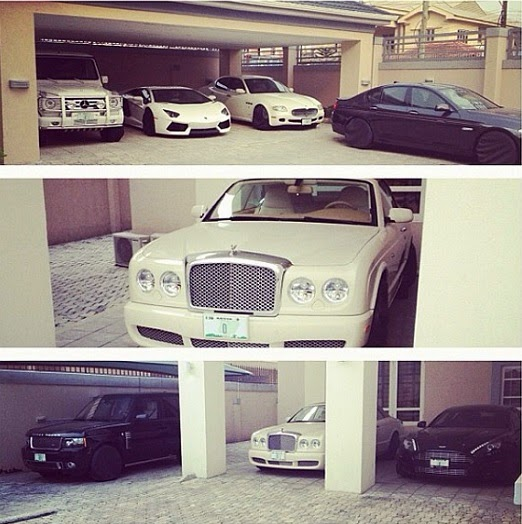 expensive cars lekki house garage