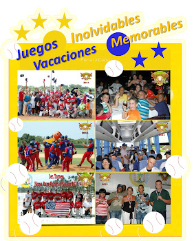 Evento de Beisbol Infantil Home Run Summer Season 2012