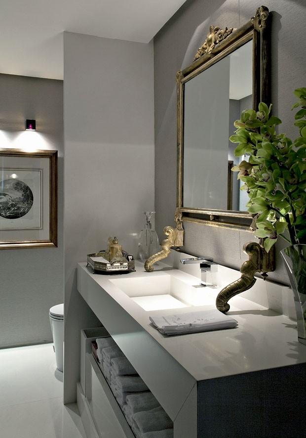 imagens decoracao lavabo : imagens decoracao lavabo:Ideias de Lavabos – veja modelos lindos! – Decor Salteado – Blog de