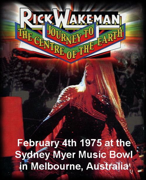 Rick Wakeman - Live Australia 1975 ... 94 minutos