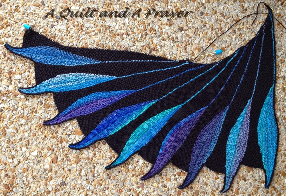 Dreambird Knitting Pattern : A Quilt and A Prayer: Dreambird Knit-a-long