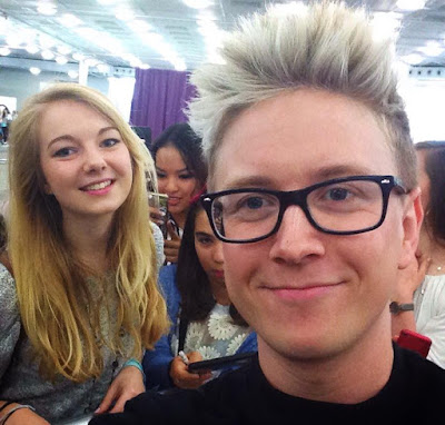 Tyler Oakley Youtube photo Beauty con london