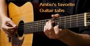 My Favorite Guitar Tabs