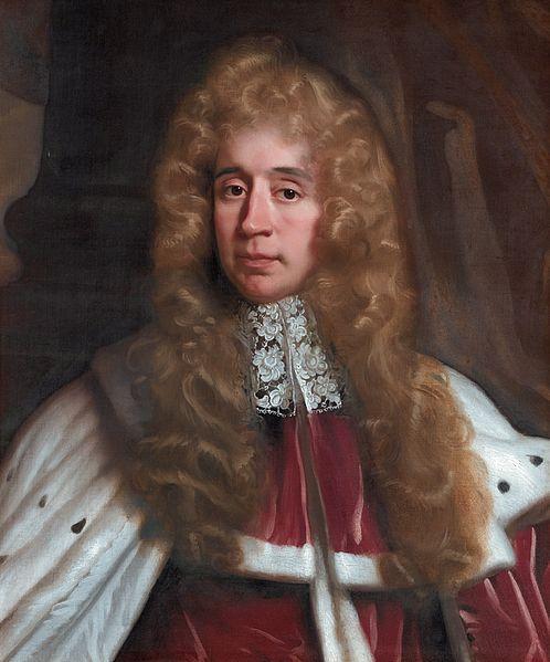 7.-George, 1er barón Jeffreys de Wem, por John Riley