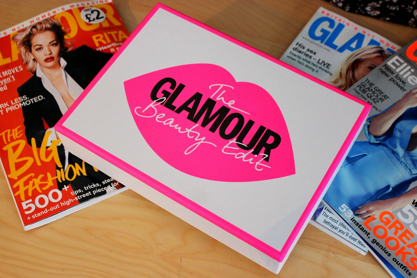 UK Blog Giveaway: The Glamour Beauty Edit, Latest In Beauty