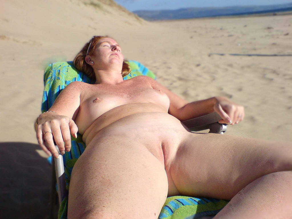 Very grateful bbw nude beach