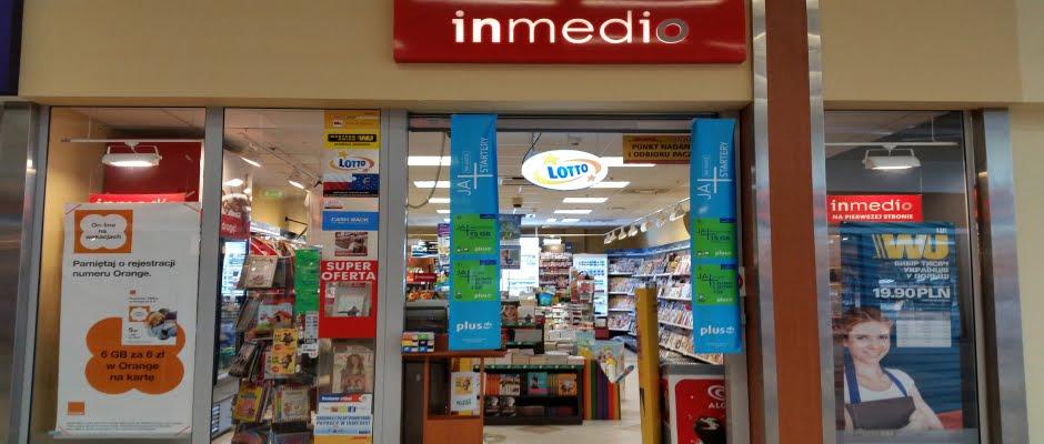 Salonik prasowy InMedio w Auchan Opole