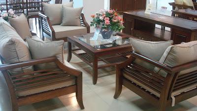 Bàn ghế phòng khách gỗ xoan đào