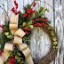 Coronas de Navidad.