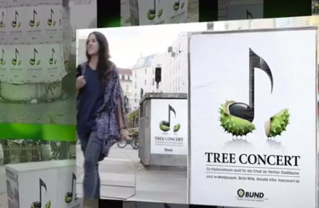 concierto de árboles