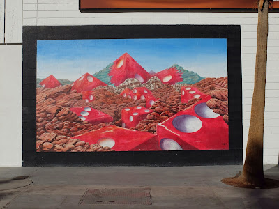 Pyramid at Red Rock Canyon Mural