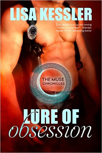 Lure of Obsession (The Muse Chronicles #1) by Lisa Kessler (PNR)