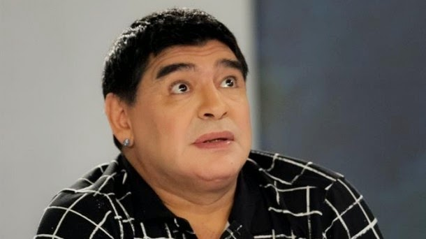 Maradona On Social Network