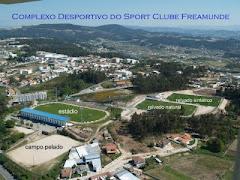 Complexo desportivo S. C. Freamunde. Inaugurado em 18/02/1990