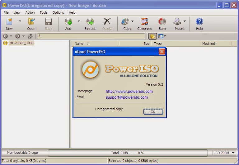 PowerISO 7.5 User Name And Registration Code Archives