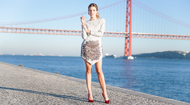 invitada boda blog look david christian colour nude kolonaki bruna