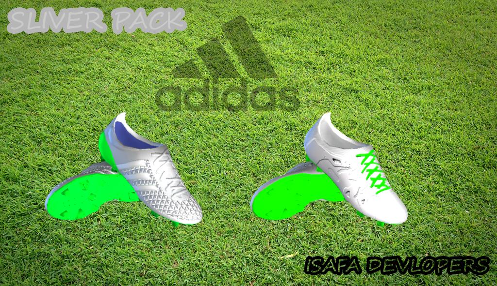 PES 2013 Adidas Sliver Metalic Min BootPack by Isafa Web Dev