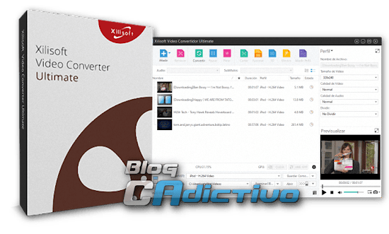 Xilisoft Video Converter Ultimate v.7.8.1 Build 20140505 - Great Multiformatos Converter and Video to Audio look and Recharge !