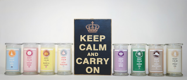 Win a Keep Calm Candle