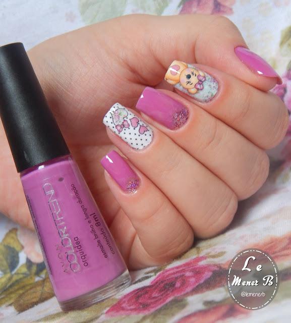 nail art bear