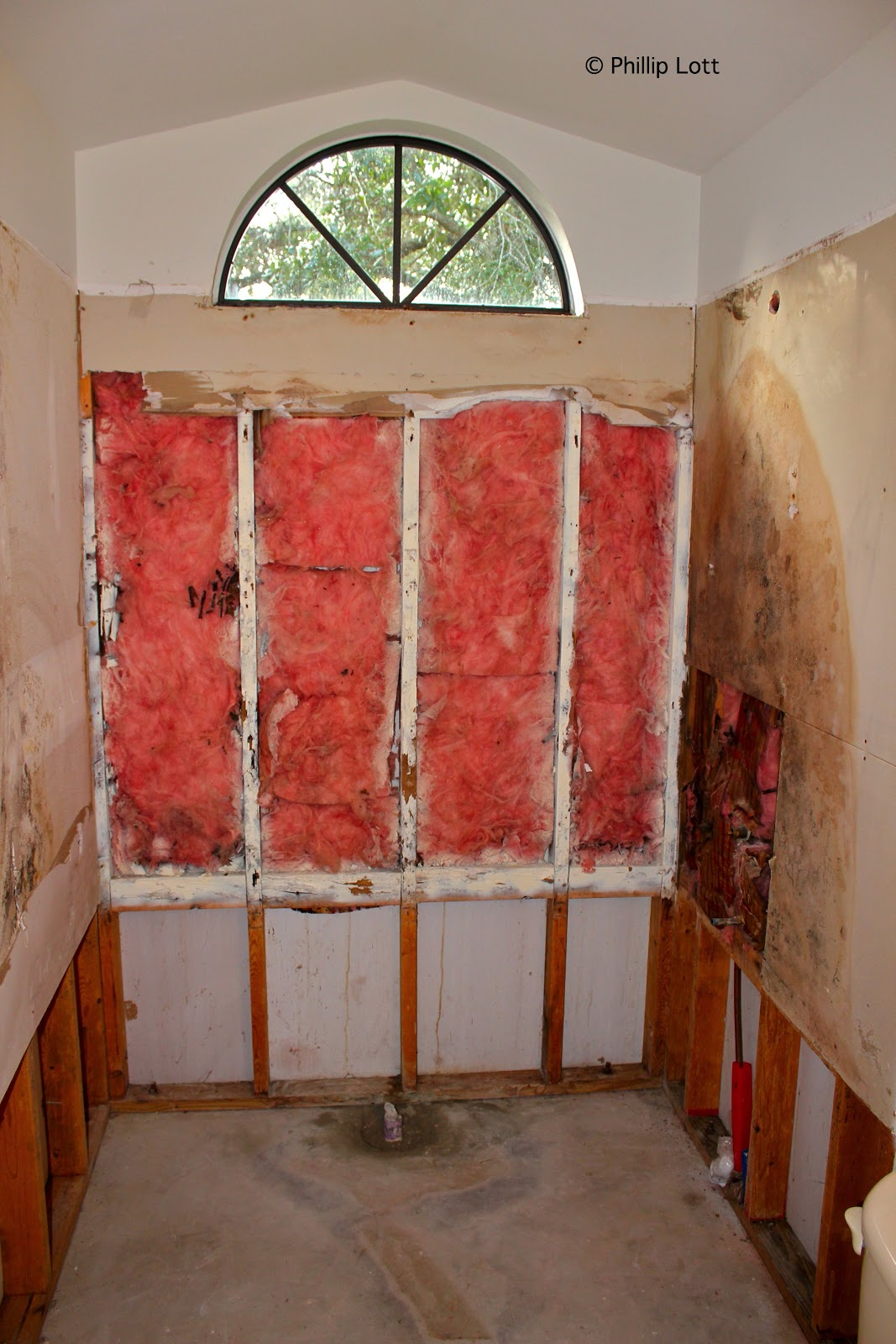 Elegant We will remove the remainder of the dry wall replace all the x s install concrete board install a waterproof barrier and build a new shower stall out