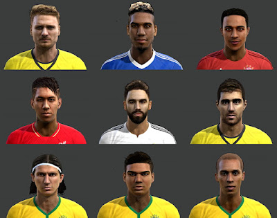 PES 2013 Facepack International v6 by Mayo Facemaker