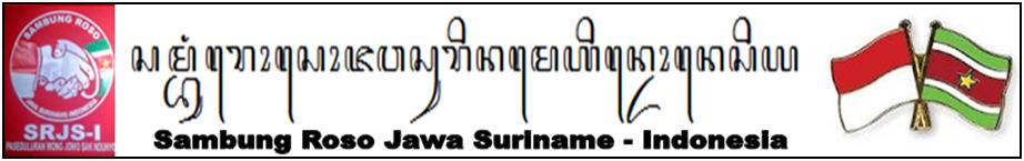 Sambung Roso Java Suriname - Indonesia