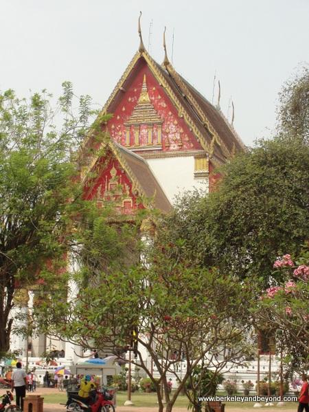 Wat Phra Sri Sanphet at Ayutthaya Historical Park in Thailand