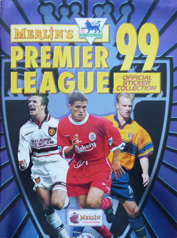 Football cartophilic info exchange merlin premier league 99 for Epl table 1998 99