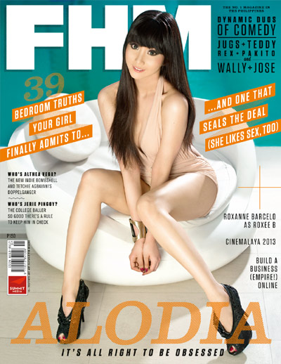 Alodia Gosiengfiao is FHM Cover Girl for July 2013