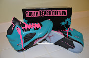 Jordan 5's in a neverofficiallyreleased colorwaySouth Beach. (air jordan retro south beach custom )