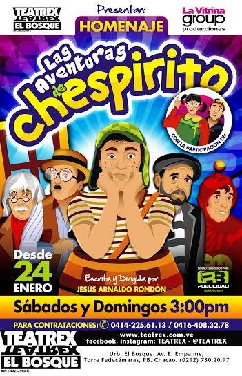 chespirito homenaje venezuela muerte teatro