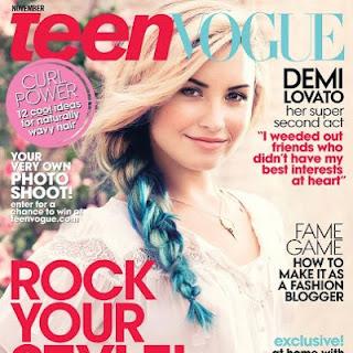 Demi Lovato, Teen Vogue, demi, lovato